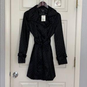 Black Bebe coat